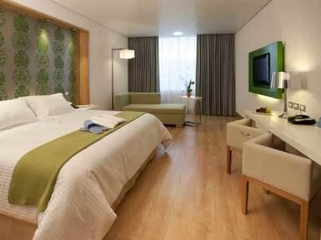 Una habitación del hotel.