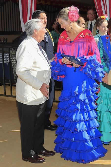 Guillermo Y Maxima De Holanda Feria De Abril 2