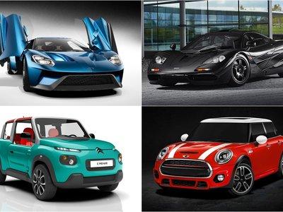 11 coches que lo molaron fuerte en el pasado y ahora vuelven por todo lo alto