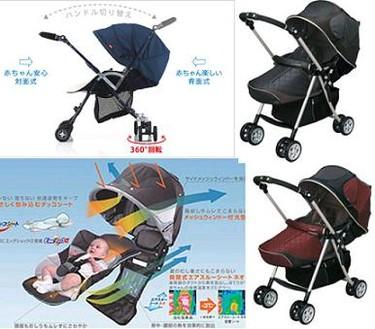 Cochecito de bebé con control de temperatura, Combi LX 720