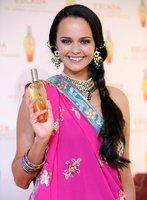 El look de Shaila Durcal en la presentación del nuevo perfume de Escada