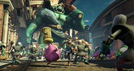 No te pierdas este combate de diez minutos contra un Cíclope Gigante en Dragon Quest: Heroes