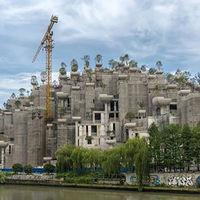 La China faraónica: Shanghái va a resucitar a los jardines colgantes de Babilonia para usos residenciales