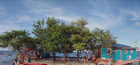 Una isla en el mar Caribe para nosotros solos, (y se puede alquilar por AirBnB)