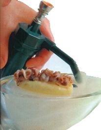 Una pipa eléctrica de marihuana para cocinar