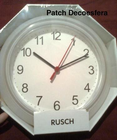 Hazlo tú mismo: personaliza el reloj Rusch de Ikea