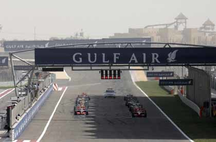 Bahrein será la primera carrera del Mundial 2008