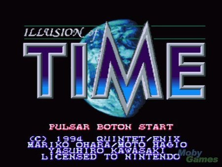 Ilusion of Time