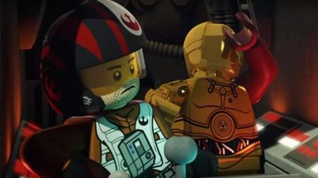 Poe Dameron, el protagonista del nuevo video de LEGO Star Wars: The Force Awakens