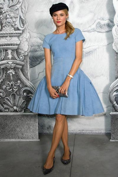 Diane Kruger será el nuevo rostro de la belleza de Chanel