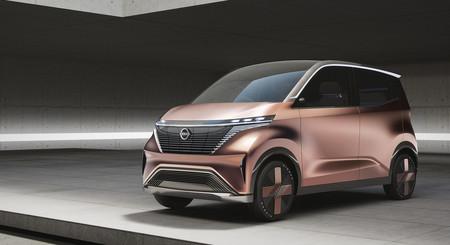 El Nissan IMk concept es un kei car eléctrico que puede configurarse desde el móvil y hace invisibles los edificios