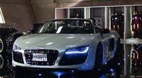 El Audi R8 Spyder de Iron Man 2