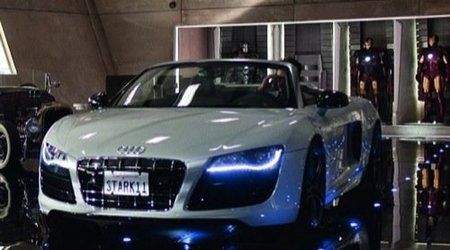 Audi R8 Spyder Iron Man