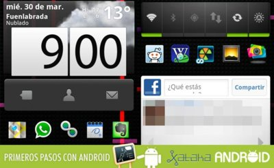 Primeros pasos con Android: Dale un toque personal a tu escritorio (I)