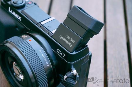 Lumix GX7 visor