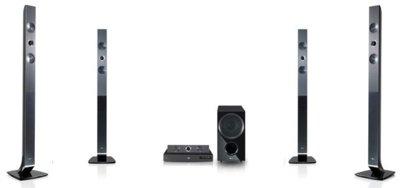 LG Blu-Ray 3D Cinema 5.1, Blu-Ray y audio para los tiempos modernos