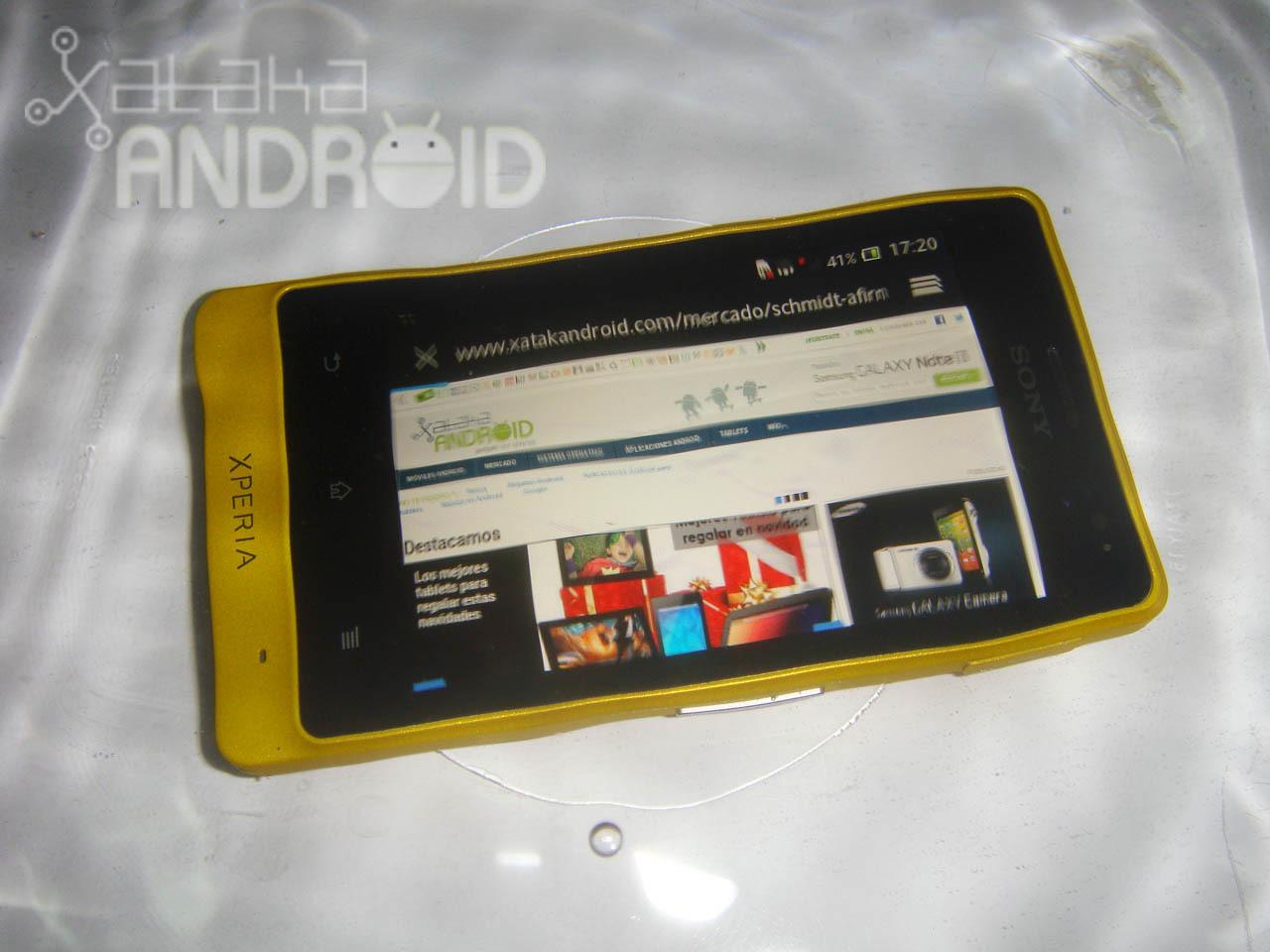 Foto de Análisis del Sony Xperia go (7/36)