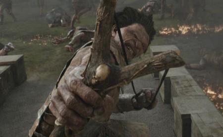Uno de los gigantes de la película