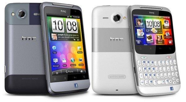 HTC Salsa y ChaCha