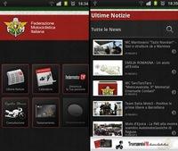 Nueva Aplicación para iPhone de la Federación Italiana de Motociclismo