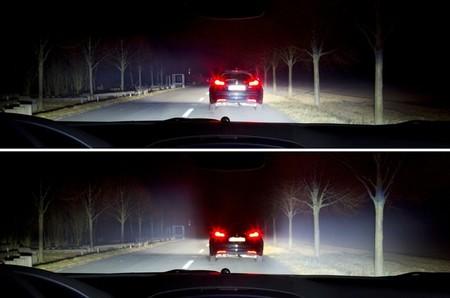 Iluminación Led Matrix de Opel