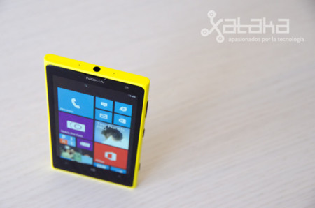 Lumia 1020 desde arriba