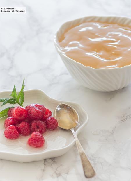 Cómo hacer gelatina de brillo para tartas y frutas. Receta
