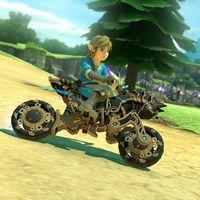Mario Kart 8 Deluxe se actualiza para recibir contenidos de Breath of the Wild, ¡incluyendo la Moto Hyliana!