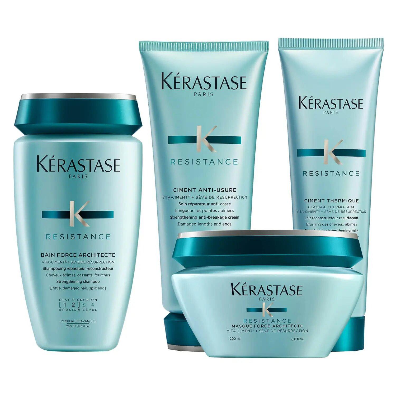 Kérastase Résistance Complete Strengthening Routine for Damaged Hair