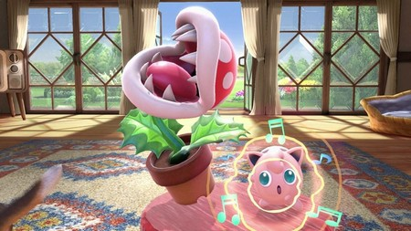 Super Smash Bros Ultimate Planta Pirana
