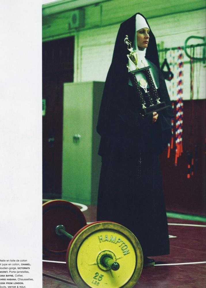 Foto de Miranda Kerr muy provocativa en el editorial de Numèro (5/15)