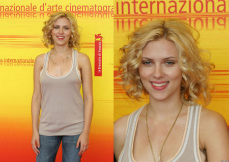 Scarlett Johansson de calle en Venecia