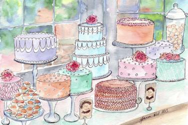 Las dulces y parisinas acuarelas de Jojo la Rue. ¿Te puedes resistir a ellas?