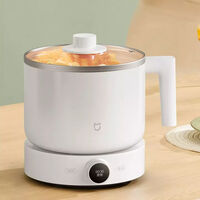 Por 22 euros, la nueva olla de cocina multifunción es capaz de guisar, cocer al vapor y hervir a 1000W de potencia