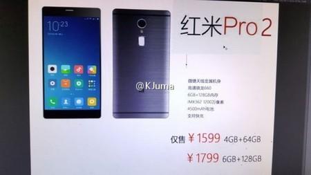 Xiaomi Redmi Pro 2 Filtracion