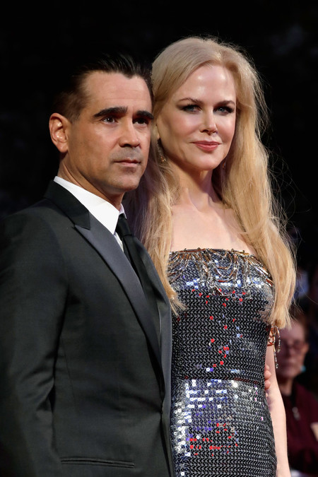 Colin Farrell Traje Negro Homobre Trendnecias Red Carpet To Kill A Sacred Deer 2