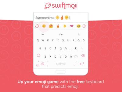 Swiftmoji, el nuevo teclado de SwiftKey que predice los emojis que quieres usar