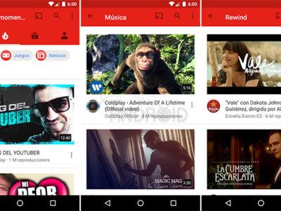 Con YouTube para Android ya puedes ver los vídeos del momento
