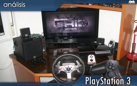 G25 Racing Wheel, para PlayStation 3: Análisis
