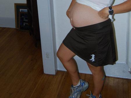 Si corres embarazada, cuidado con el dolor del ligamento redondo