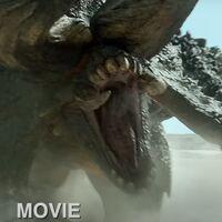 El nuevo tráiler de la película de Monster Hunter compara a sus monstruos con los del videojuego