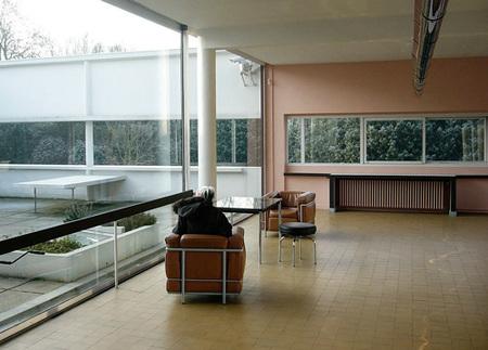 villa Savoye - salón