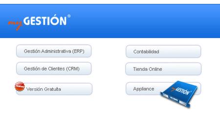myGestión, gestión empresarial vía web