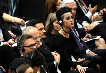 Así es como se ha vestido Katy Perry para visitar al Papa Francisco en Roma