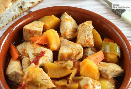 Receta de marmitako de bonito cocinado a fuego lento: el guiso vasco por excelencia