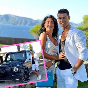 El regalazo que Georgina le ha hecho a Cristiano Ronaldo: un exclusivo Mercedes de 330.000 euros
