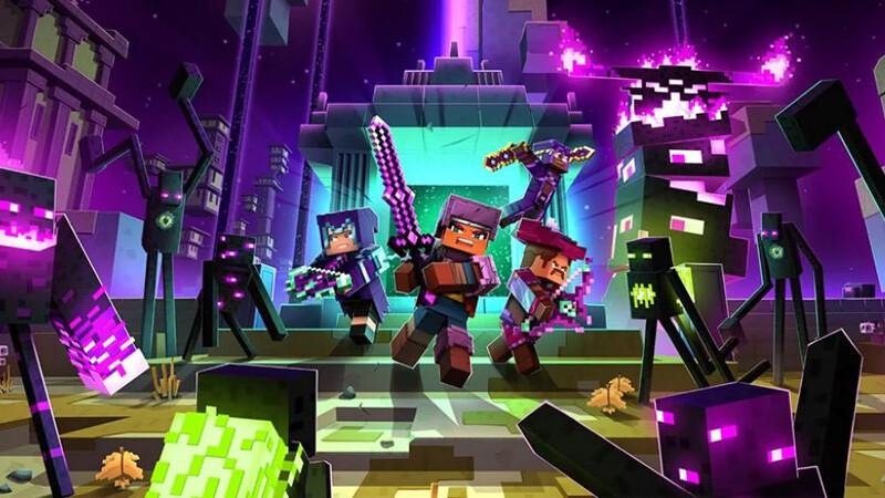 Minecraft: Dungeons recibirá a finales de julio Echoing Void, su última expansión, junto con una edición definitiva con todos los DLC