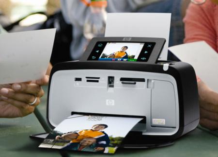 Kioskos fotográficos HP con pantallas gigantes