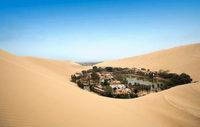 El 'Oasis de las Américas' en Huacachina, Perú