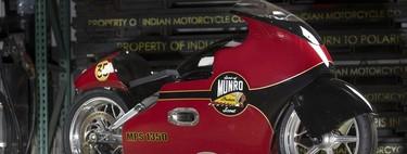 Indian buscará superar los 321 km/h para honrar el récord histórico de Burt Munro de 1967